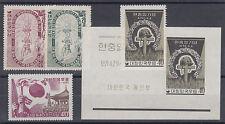 Korea Sc 223/326a MNH. 1955-61 issues, 3 cplt sets VF
