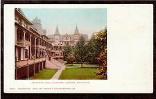 1902 Churchill Hall Stamford Catskill mountains New York postcard