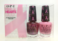 OPI - PINK OF HEARTS 2012 Duo Pack 2 Colors H38 & SRDC4 x 0.5oz