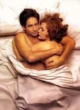 PHOTO X-FILE DAVID DUCHOVNY ET GILLIAN ANDERSON  - 11X15 CM  # 2