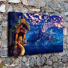 0420- Tangled Movie Rapunzel Home Decor HD Canvas Print Room Wall Art Picture