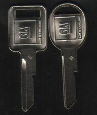 Buick Cadillac Chevy Oldsmobile Pontiac 1969 1973 1977 1981 GM Key Blanks