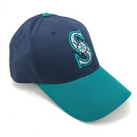 Seattle Mariners Outdoor Cap Youth Adult Sizes Adjustable Hat Curved Brim Blue