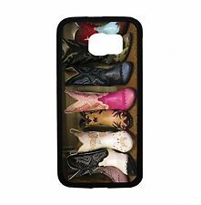 Cowboy Boots For Samsung Galaxy S6 i9700 Case Cover