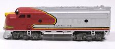 "Vintage ATHEARN SANTA FE ENGINE Red Silver & Yellow 2.25""H x 7""L x 1.5""W"