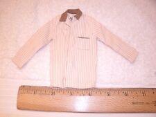 1962-63 Vintage Mattel Ken Sleeper Set #781 Brown Striped Shirt