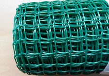 Green Plastic Garden Mesh Wire Ideal for Garden Fencing 5mx0.5mx20mm Value!