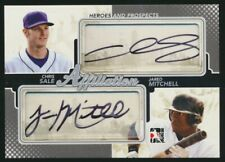2011 ITG #AF-23 Dual Auto Chris Sale / Jared Mitchell. Silver Version. #/19 MINT