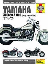 HAYNES SERVICE MANUAL YAMAHA XVS1100 CUSTOM 1999-05, XVS1100A & XVS1100S 2002-05