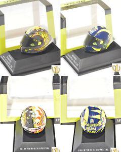 1:8 Minichamps 399180066 + 399180046 AGV Mini helmet Valentino Rossi 2018