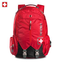 "Swiss waterproof 16"" Laptop Backpack Travel School Backpack shoulder Bags SW9176"