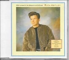 RICK ASTLEY - She wants to dance with me CDM 3TR PWL Germany 1988