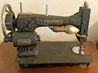 Vintage White Rotary Sewing Machine 1930s Working 110 Volts
