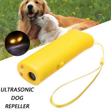 Train Dog Repeller Control LED Trainer Ultrasonic Anti Bark Device Stop Barking