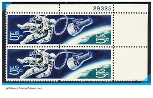 "NEW US Scott 1331-32 ""Accomplishments in Space"" block of 4 1966 MNH jeffstamps"