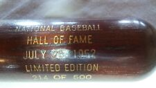 1952 Heilmann, Waner Baseball Hall of Fame Induction Bat 214/500