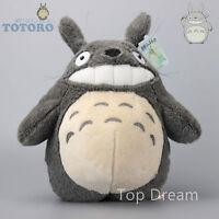 STUDIO GHIBLI My Neighbor Totoro Grin TOTORO Plush Doll Soft Toy 15'' Kids Gift