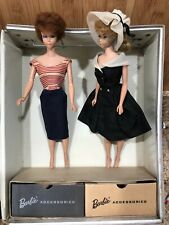 1963 BLONDE PONYTAIL BARBIE Midge 1962 Bubble Cut Tatian Hair Lot Estate Dolls