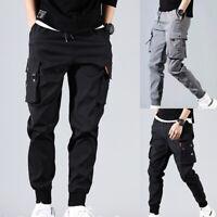 Men Trousers Hip Hop Harem Pants Casual Pants Fashion Sweatpants Plus Size M-5XL