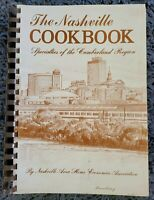 THE NASHVILLE COOKBOOK CUMBERLAND REGION SPIRAL LOCAL COOK BOOK RECIPES