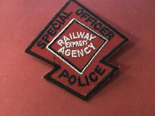 REA Railroad Police patch