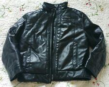Veste blouson simili cuir- Bimbus – Taille 5-6 ans tbe