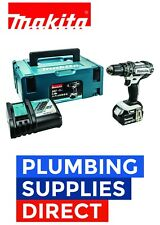 * Makita 18v LXT Li-ion Cordless Combi Drill With 1 BL1840B Battery & Charger