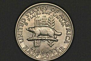 1936 Wisconsin* Ch Brilliant Unc * Commemorative Half Dollar Beautiful Luster