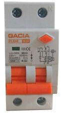 FI/LS Schalter Fehlerstrom-Leitungsschutzschalter GACIA PL8HE B10 30mA A