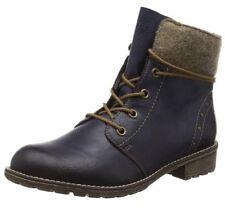 Rieker Kinder Girls' K3467 Ankle Boots, Blue (Ozean/Wood/14) 4 Child UK 37 EU#