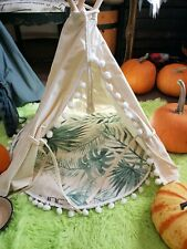Pet Tee-pee Tents ⛺ for Small indoor/Outdoor Dog's & Cats � ( light Tan Color)