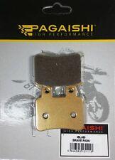 PASTIGLIE FRENO POSTERIORE pagaishi per HM-Moto DERAPAGE 50 RR 2007 - 2008