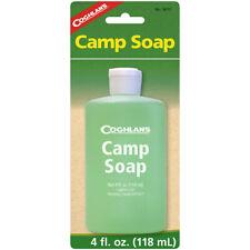 Coghlan's campamento jabón, 4 onzas fluidas, DOSIFICADOR DE BOTELLA, limpia platos o Gear