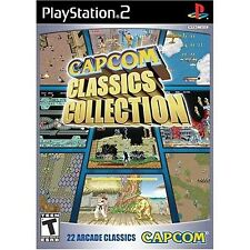 Capcom Classics Collection Playstation 2 PS2 new and Sealed