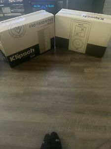 Klipsch White THX Ultra2 In-wall Speaker - Pro-7800-S-THX (Pair)