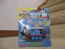 Thomas & Friends Take-N-Play Diecast Thomas' Railway Adventures! DVD Train Toy