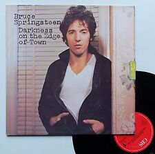 "Vinyle 33T Bruce Springsteen  ""Darkness on the edge of town"""
