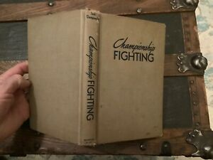 1950 Championship Fighting By Jack Dempsey Boxer Boxing Punching Defense