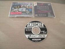 >> SNATCHER PILOT DISK KONAMI HIDEO KOJIMA PC ENGINE SUPER CD JAPAN IMPORT! <<