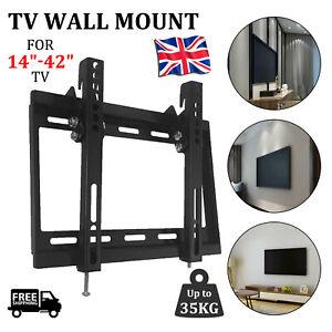 TV Wall Bracket Mount Slim For  20 25 30 32 38 40 42 Inch 3D LCD LED Plasma
