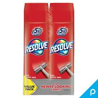 Resolve Dual Pack High Traffic Carpet Foam (2 Cans x 22 oz) Removes Stains 44 oz
