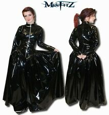 Misfitz pvc  padlock lockable ballgown Sizes 8-32 or made to measure