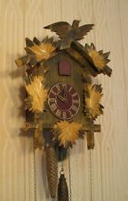 "Vintage Soviet Russian Cuckoo Wall Clock ""Mayak"" forest bird WORKING"