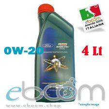 FORD 0W20 Olio motore Auto Castrol Magnatec Motori Diesel Fully Synthetic 4 lt