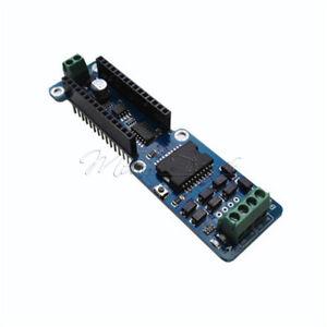2A Dual Channel L298P DC Stepper Motor Driver Shield Module For Arduino Nano 3.0