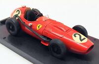 Brumm 1/43 Scale R068 - F1 Ferrari D246 - #2 M.Hawthorn Gran Bretagna GP 1958