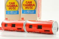 [TOP MINT in BOX] 2 Set COCA COLA CAN CAMERA 110TX 110mm Film from JAPAN 227
