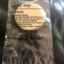 Mary Kay ROUND Cosmetic Powder Foundation Sponge - 2 PACK - NEW IN PACKAGE