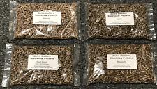 Wood Smoking Pellets 4 X 1 lb Bags BBQ, Charcoal, Pellet Grill, Smoker, Kamado