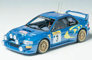 Tamiya 24199 Subaru Impreza WRC 98 Monte-Carlo 124 scale